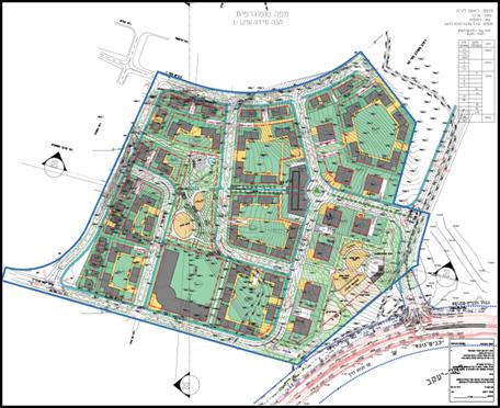 מאוד ראשון לציון שכונה מזרחית (הרקפות) | ניהול פרויקטים | תיק פרויקטים NR-98